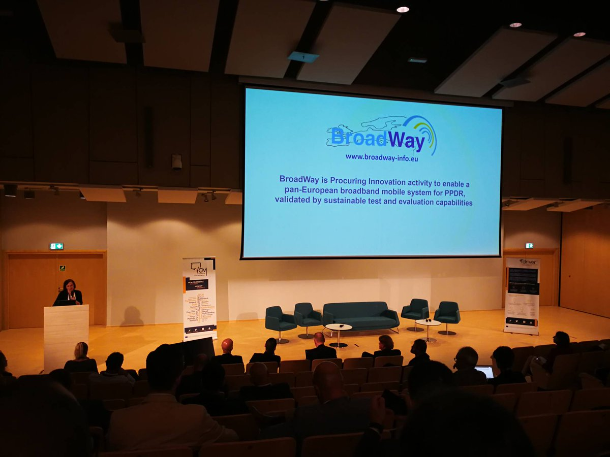 BroadWay Presentation At The 3rd I4CM In Warsaw