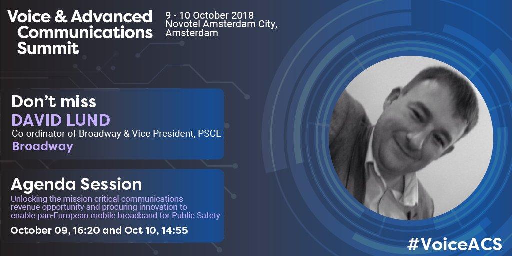 BroadWay Presentation @ Voice & Advanced Communications Summit In Amserdam