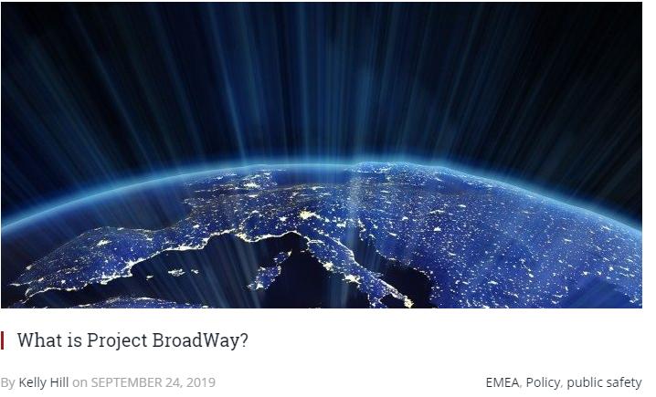 RCR Wireless News Writes About BroadWay